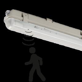 LED armatuur waterdicht inclusief buis IK08 60cm 4000K met bewegingsmelder