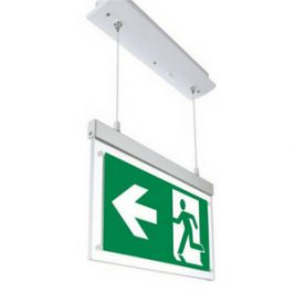 LED Vluchtwegaanduiding inbouw plafondmontage