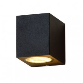 Led Buitenlamp vierkant zwart