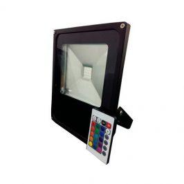 LED RGB Floodlight met afstandsbediening 10W