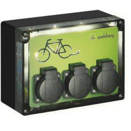 Oplaadpunt elektrische fietsen