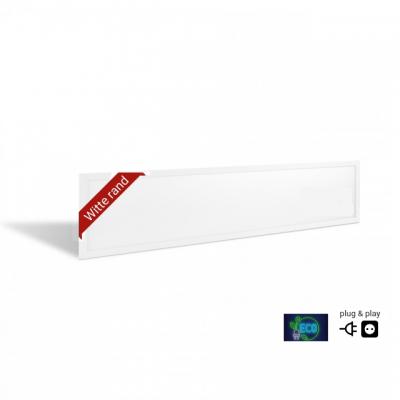 EHP eco LED paneel 30x120cm | 35W | 6000K | 107 L/W | Witte Rand | Plug & Play