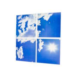 Led wolkenplafond 4-luik