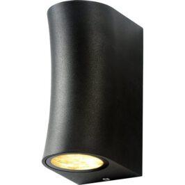 Led Buitenlamp zandloper zwart