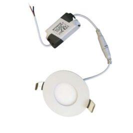 LED inbouw downlighter 2800K 3W