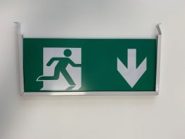 onderhangbord Noodverlichting