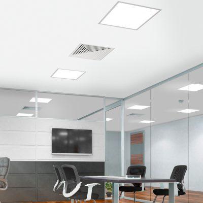 inbouwframe voor led panelen 60x60cm