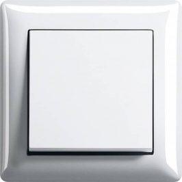 GIRA Systeem 55 glanzend wit