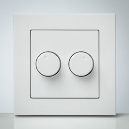 LED-dimmer-Duo-2x-200W-IDD-2x-200W-faceplate