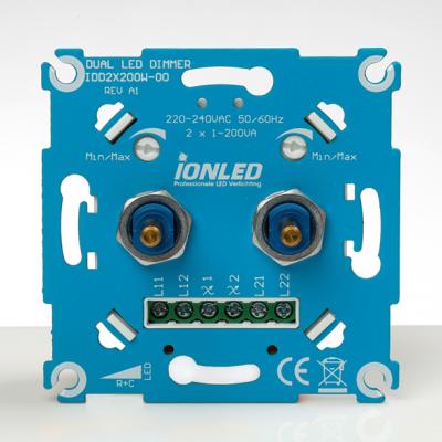 LED dimmer Duo 2x 200W (IDD 2x 200W)